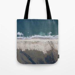 Aerial Beach Photograph: Masonboro Island | Wrightsville Beach NC Tote Bag