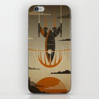 return iPhone & iPod Skins featuring The Return by Danny Haas