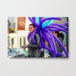 Your Smile, Your Cilia... Metal Print