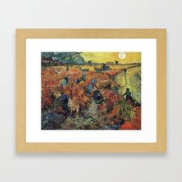 New Haven - Van Gogh Framed Art Print