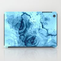 roses iPad Cases featuring roses underwater by clemm
