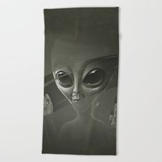 Alien Beach Towel