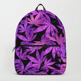 Purple Weed Backpack