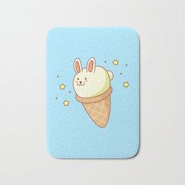 Bunny-lla Ice Cream Bath Mat