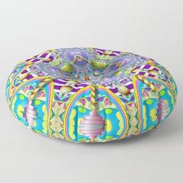 Perpetual Psychedelic Machine Floor Pillow
