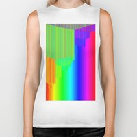 pivot Biker Tanks featuring R Experiment 5 (quicksort v3) by X's gallery