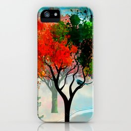 Lavish Abstract Landscape iPhone Case