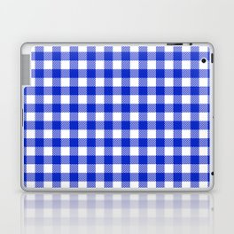 Plaid (blue/white) Laptop & iPad Skin