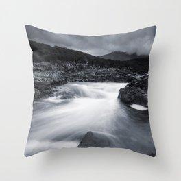 River Rapids Throw Pillow