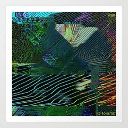 Colour & Contour Art Print