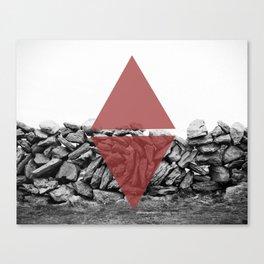 red walls Canvas Print