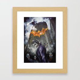 Agent Of Chaos Framed Art Print