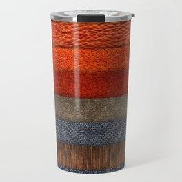 Cool colth texture design Travel Mug