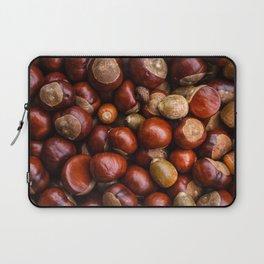 Castanea Chestnuts Nuts pattern Laptop Sleeve