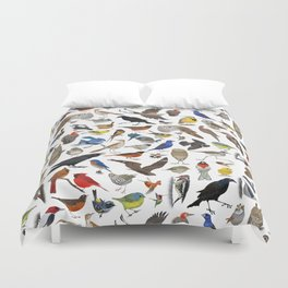 Bird Pattern Duvet Cover