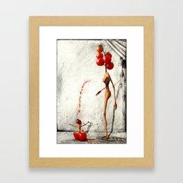 ripenness Framed Art Print
