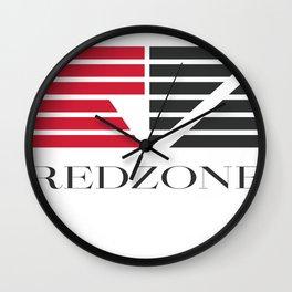 Redzone Music Wall Clock