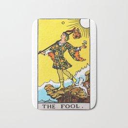The Fool Tarot Bath Mat