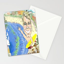 Greetings from Dr. Chris on Bondi Beach! Stationery Cards