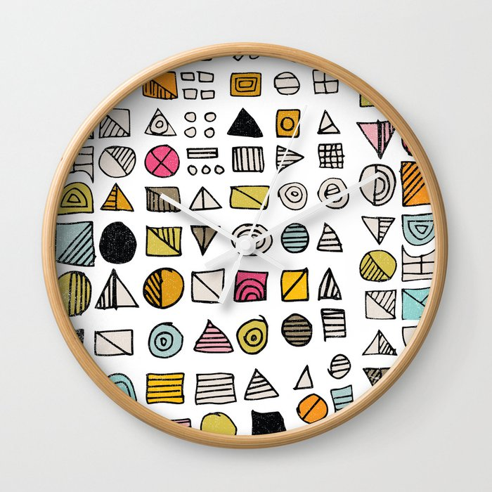 HIEROGLYPHS  Wall Clock