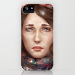 Red Winter iPhone Case