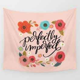 Pretty Not-So-Sweary: Perfectly Imperfect Wall Tapestry