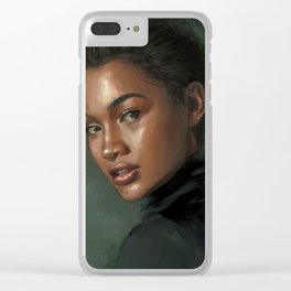 Real as it gets Clear iPhone Case