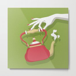 It's Tea Time Metal Print