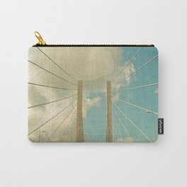 Over the Bridge Carry-All Pouch