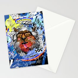 Gee The Party Wolf Remixed Stationery Cards