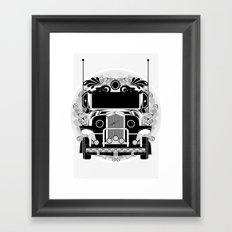 jeep ni erap Framed Art Print