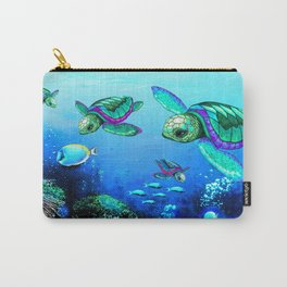 Sea Turtles Dance Carry-All Pouch