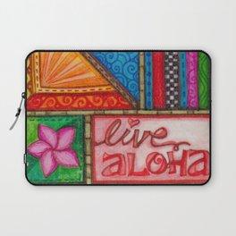 Live Aloha Laptop Sleeve