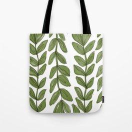 thru the vines Tote Bag