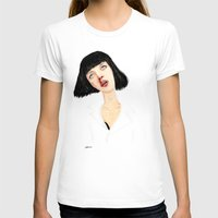 mia wallace T-shirts featuring Mrs Mia Wallace by Wakkala