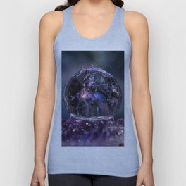 Crystal Ball Water drops Unisex Tank Top