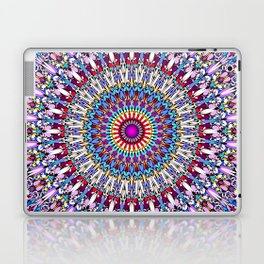 Fantasy Flower Garden Mandala Laptop & iPad Skin