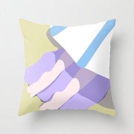 BEACH BLANKET Throw Pillow
