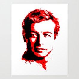 The Red Mentalist Art Print