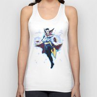 enerjax Tank Tops featuring Doctor Strange by enerjax