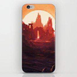 Fantasy Ruins iPhone Skin