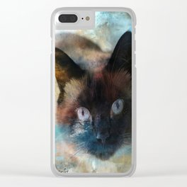Thru The Looking Glass Clear iPhone Case