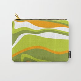 Pesto Orange and green Carry-All Pouch