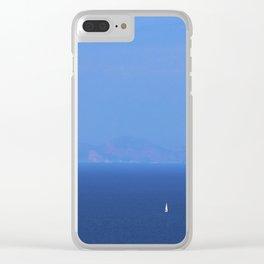 Santorini, Greece 13 Clear iPhone Case