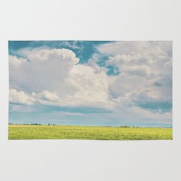 Gallatin County Storm Clouds Rug
