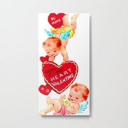 Here is my heart valentine Metal Print