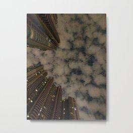 Shanghai night sky Metal Print