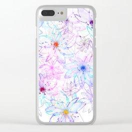 Flower carpet(64) Clear iPhone Case
