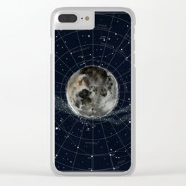 Pathfinder Night Clear iPhone Case