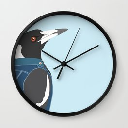 Baseball Maggie Wall Clock